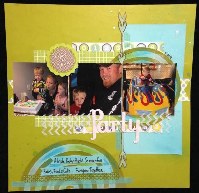 Creative Scrappers Birthday Bash