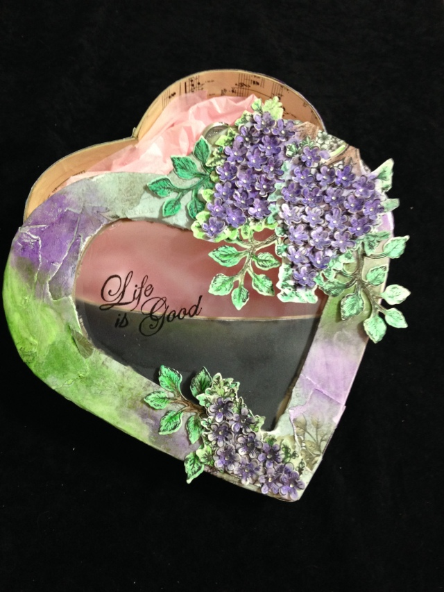 Mother's Day Heart Gift Box