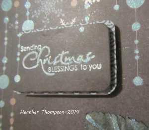 Christnas blessings close up