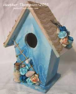 Birdhouse side
