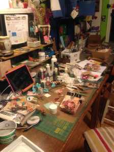 ok, This is how my desk has been the last 3 days trying to get over this block. not much productivity here but a royal mess.
