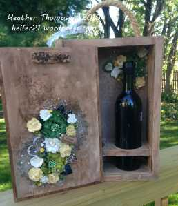 double wine holder 4