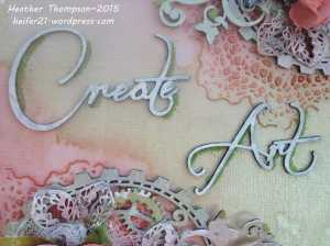 Create Art close up 1