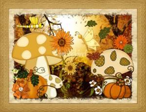 Shroom-Whimsical-Autumn-Fantasy-Art_art